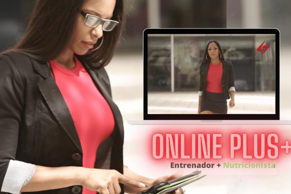 Entrenamiento  Online Plus+: Entrenamiento para mujeres